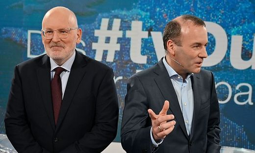 GERMANY-EU-VOTE-POLITICS-TV DEBATE