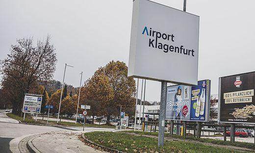 Flughafen Klagenfurt November 2020