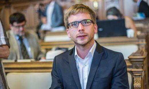 Neo-Stadtrat Robert Krotzer