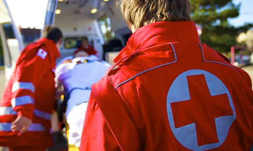 Die Rettung musste gestern in der Südsoststeiermark gleich zwei Radfahrer versorgen.