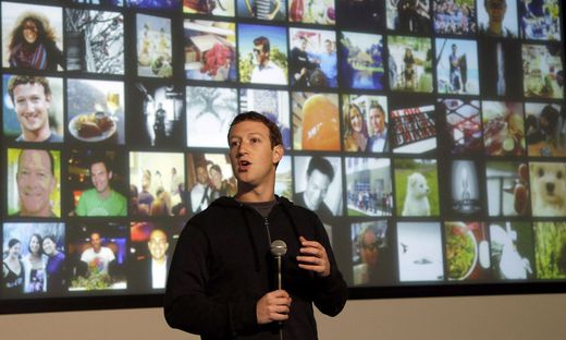 Wieder einmal im Visier der EU-Kommissare: Facebook-Boss Mark Zuckerberg