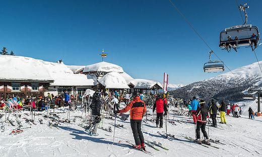 Naturschnee, Ferien und Kaiserwetter – dieser Mix lockt die Skifahrer auf den Katschberg