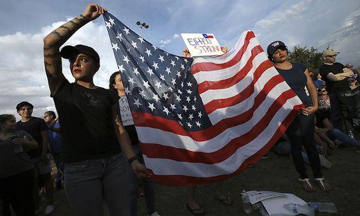 Mahnwache für die Toten von El Paso
