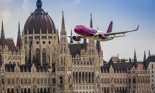 Die ungarische Wizz Air will in Wien bald wieder durchstarten