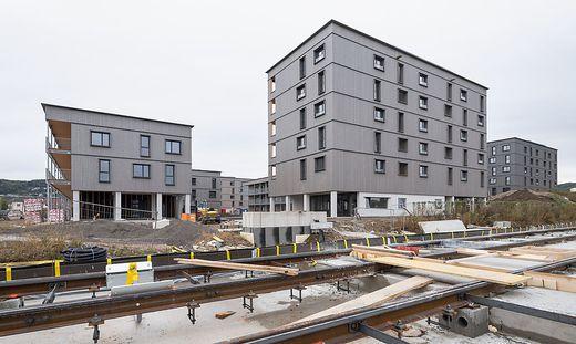 In Reininghaus entstehen derzeit Hunderte Wohnungen.
