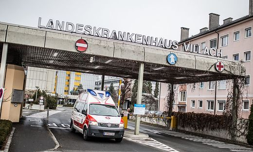 LKH Landeskrankenhaus Villach Dezember 2015