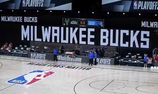 """Das Spiel hätte am Mittwochabend um 22.00 Uhr MESZ in der """"NBA-Bubble"""" in Orlando beginnen sollen"""