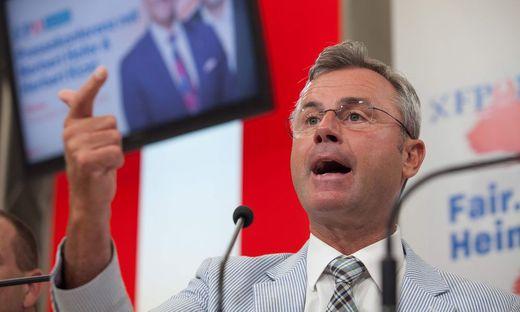 Norbert Hofer will das Rauchverbot kippen