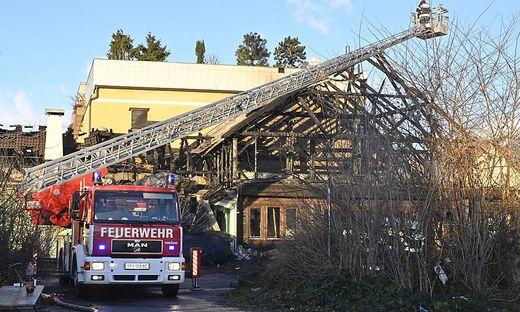 Das Landeskriminalamt ermittelte im Zusammenhang mit dem Großbrand in Spittal an der Drau wegen Brandstiftung.