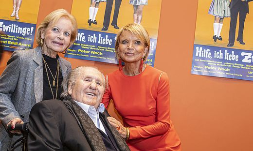 50 Jahre nach der ersten Lisa-Film-Produktion am Wörthersee: Angelika und Karl Spiehs mit Uschi Glas