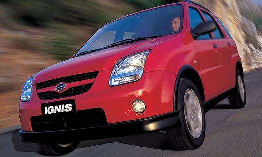 2003 Bis 2007 Die Zweite Generation Des Suzuki Ignis