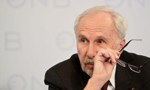 Der scheidende Nationalbank-Gouverneur Ewald Nowotny