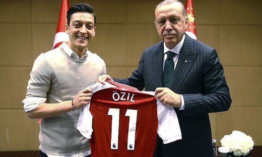 Özil und Erdogan vor der WM