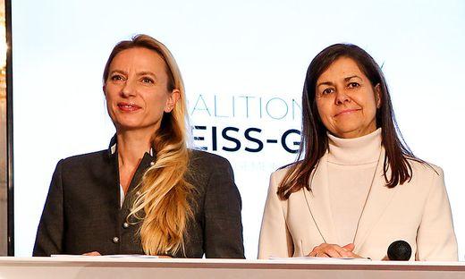 Juliane Bogner-Strauß (ÖVP) und Doris Kampus (SPÖ)