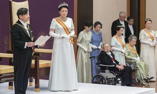 Japan hat neuen Kaiser: Naruhito bestieg Chrysanthementhron