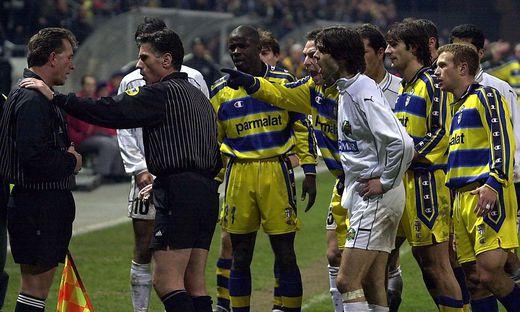 UEFA-Cup: Sturm Graz vs. Parma