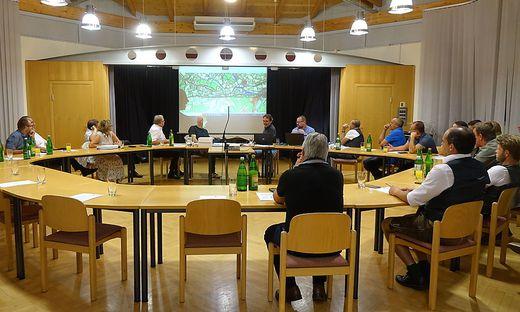 Bei der Gemeinderatssitzung in Gamlitz