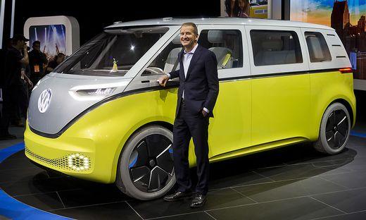 Herbert Diess will E-Mobilität-Strategie schneller durchsetzen