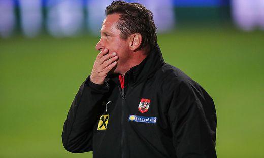 U21-Teamchef Werner Gregoritsch
