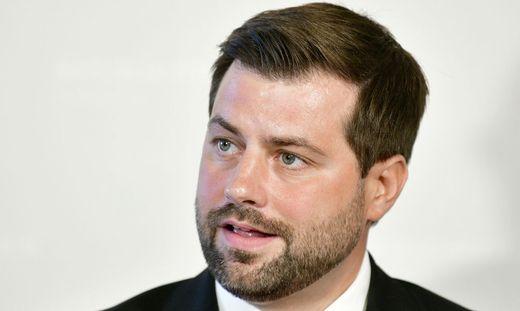 Michael Bernhard ist Neos Umweltsprecher im Nationalrat