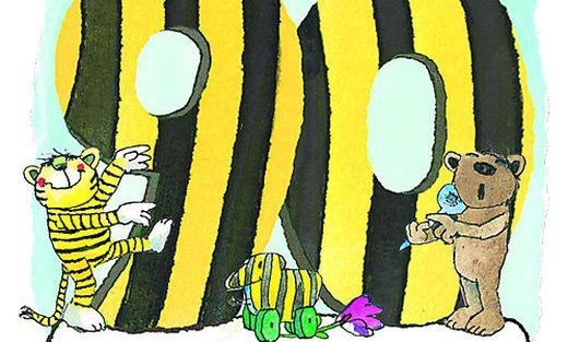 Tiger, Tigerente und Bär gratulieren Janosch zum 90. Geburtstag