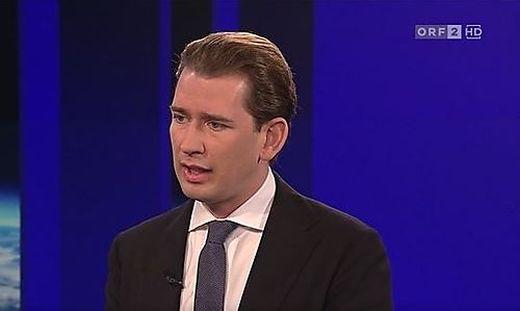 """Ein Teil der Steuerreform wird durch die kalte Progression """"weggefressen"""", sagt auch Kanzler Sebastian Kurz (ÖVP) in der ZiB2."""