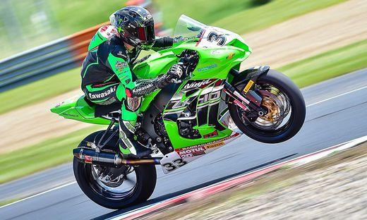 Nico Thöni macht sich in der Superbike-Klasse der IDM einen Namen