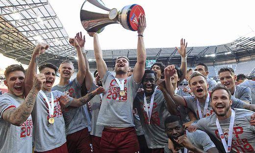 Salzburg jubelt über den Cup-Titel
