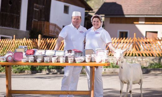 Bernd und Petra Pobaschnig produzieren im Krappfeld Eis