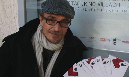 Fritz Hock musste das K3_Filmfestival verschieben