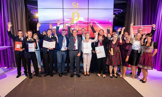 Quality Austria Winners Conference und Verleihung des Staatspreises fuer Unternehmensqualitaet