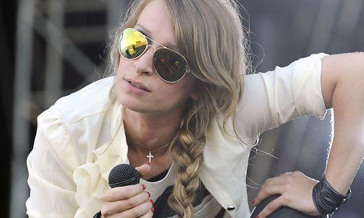 Sandra Nasic beim Nova-Rock im Jahr 2011