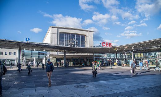 Drei Alkoholisierte sorgten am Freitag für einen Polizeieinsatz am Grazer Hauptbahnhof