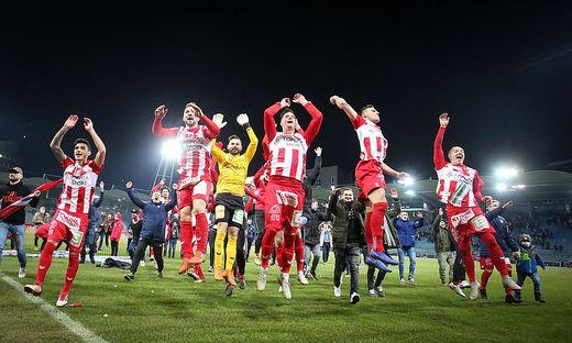 SOCCER - OEFB Cup, GAK vs A.Wien