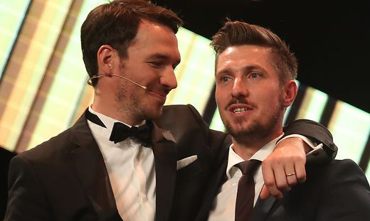 Felix Neureuther (links) und Marcel Hirscher