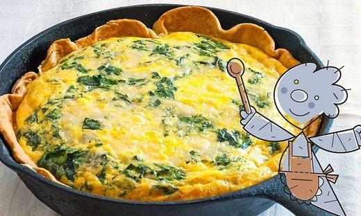 Spinat-Omelett