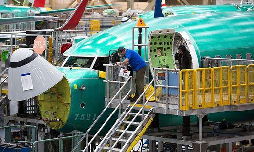 Boeings 737 Max kann derzeit nicht ausgeliefert werden