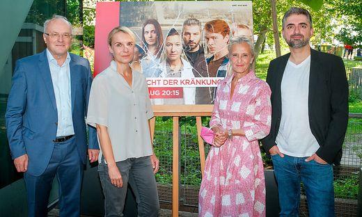 Topbesetzte sechsteilige ORF/ZDFneo-Dramaserie zeigt ?Die Macht der Kraenkung?