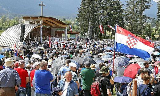 10.000 Besucher kamen im Vorjahr zum Gedenken auf das Loibacher Feld