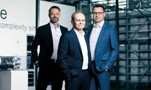 Knapp-Vorstand: Franz Mathi, Gerald Hofer, Christian Grabner
