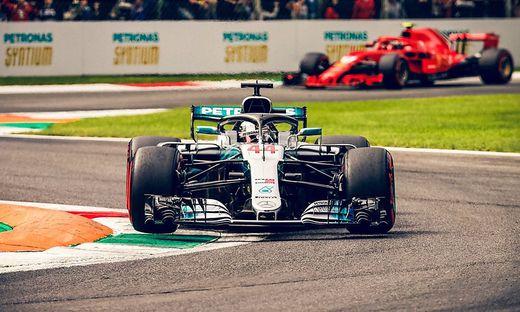 Formel 1: Räikkönen holt Pole Position in Monza vor Vettel