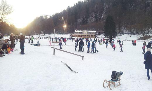Eislaufen im Bad Weihermühle