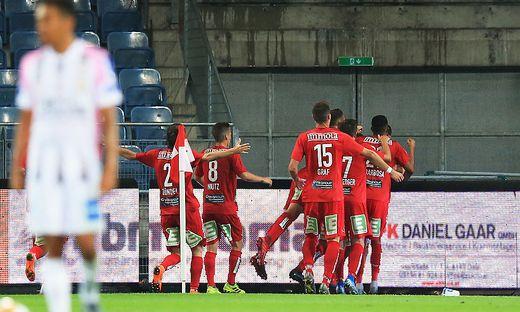 Der GAK besiegte Die OÖ Juniors mit 2:1