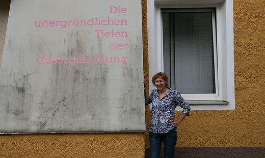 Gerhild Illmaier, Veranstalterin von EisenerZ*ART