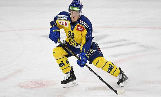 Benjamin Baumgartner, HCD, EHC Biel - HC Davos, National League, Eishockey, 23.09.2020 *** Benjamin Baumgartner, HCD, EH