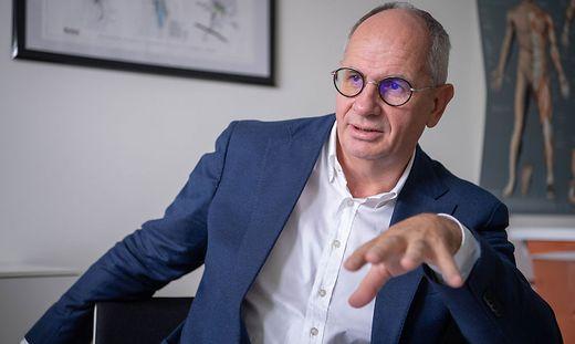 Primarius Rudolf Likar ist Intensivkoordinator des Landes Kärnten