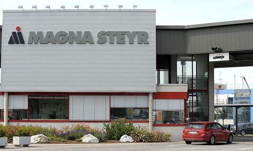 MAGNA STEYR-WERK IN GRAZ