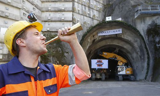 In Kärnten haben die Bauarbeiten für die zweite Tunnelröhre im Vorjahr begonnen