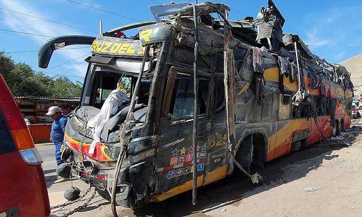 PERU-BUS-ACCIDENT