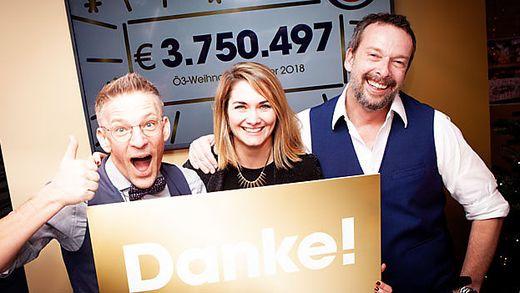 ö 3 Weihnachtswunder über Vier Millionen Euro Für Familien In Not